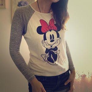 Minnie Mouse long sleeve tee